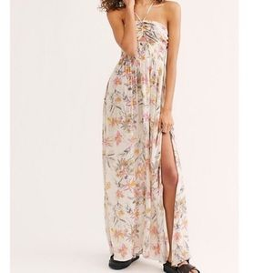 Free People // One Step Ahead Maxi Slip Dress